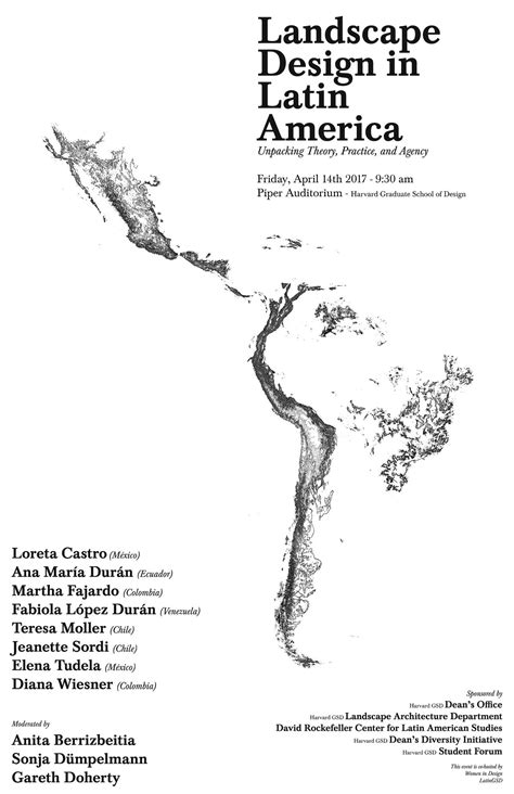 event design theory landscape design in latin america unpacking theory