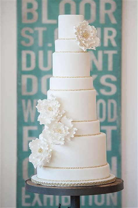 Wedding Cake Simple White by 40 And Simple White Wedding Cakes Ideas Page 3