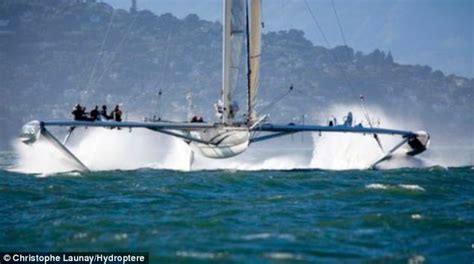 trimaran hydroptere hydroptere the world s fastest sailboat hoping to sail