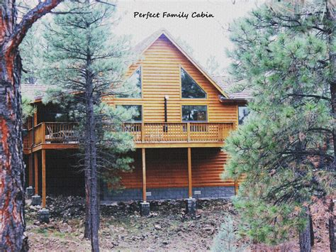 Cabin Rentals In Az White Mountains by Family Cabin In Arizona White Mountains Vrbo