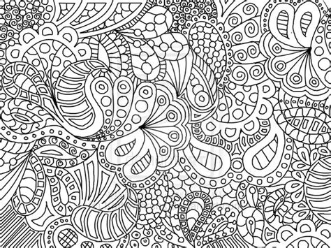 Free Coloring Pages Of Doodle Art Flowers Doodle Coloring Pages To Print