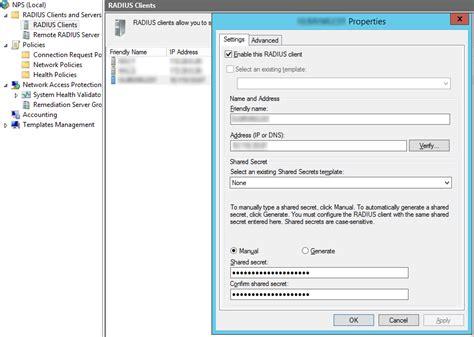 pattern matching nps configuring radius authentication on cisco virtual wlc