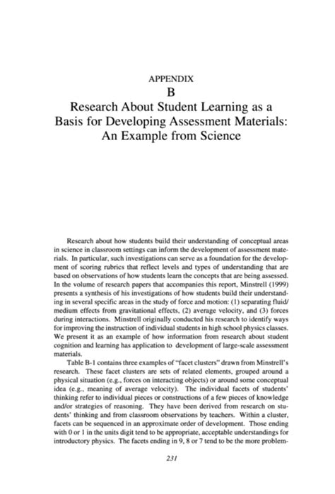 Appendix In Research Paper Exle by Research Paper Appendix Exle