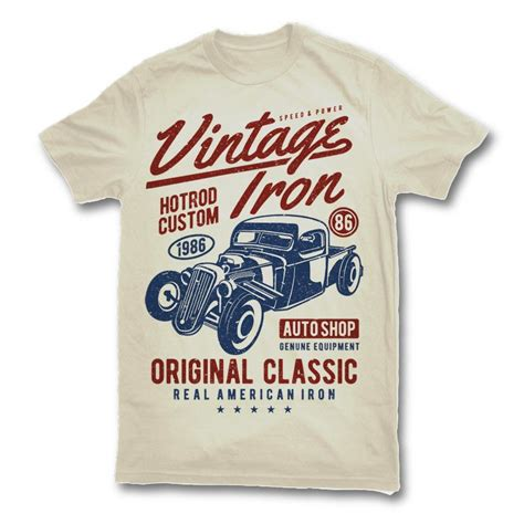 Iron On T Shirt Vintage vintage iron t shirt design t shirts shirt