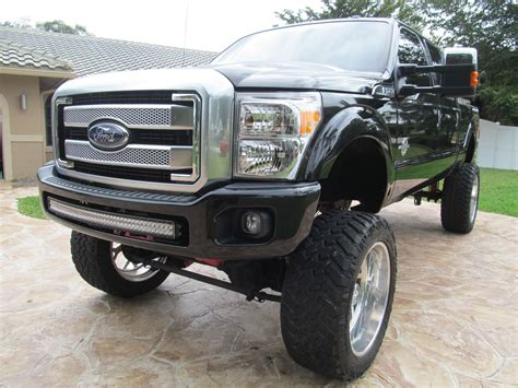 ford truck lifted lifted monster show truck 2015 ford f 250 platinum for sale
