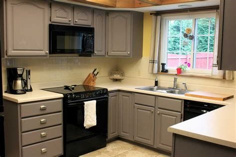 best gray paint for kitchen cabinets painting cabinets for a fresh and new kitchen design