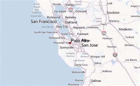 where is palo alto california on a map palo alto location guide