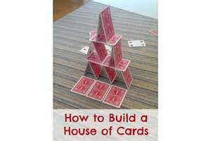 building a house blog how to build a house of cards bedtime mathbedtime math