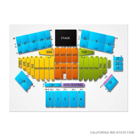 mid state fair concert seating california mid state fair tickets california mid state