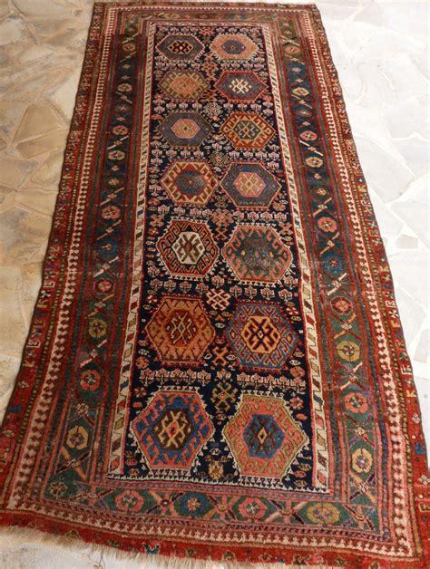 kurdish rugs kurdish rug mid 19th century 293 x 134 cm rugrabbit