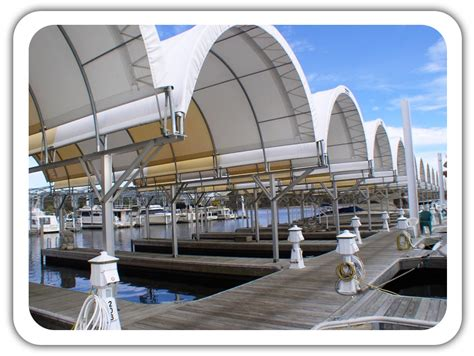 marina covers  boat storage fabric buildings