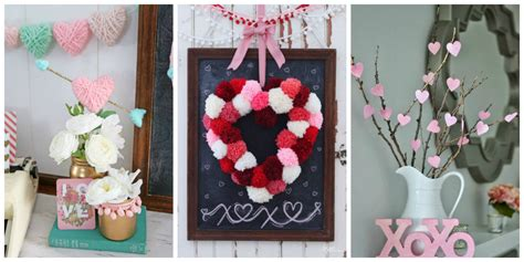 easy valentines day decorating with 13 diy s day decorations easy valentines day