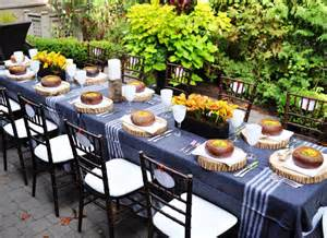 thanksgiving dinner party ideas