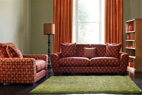 Green And Orange Living Room Decor by Orange Green Living Room Furniture Designs
