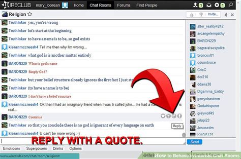 belize chat rooms how to behave in chat rooms 11 steps with pictures