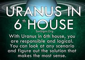 uranus in 6th house meaning sun signs