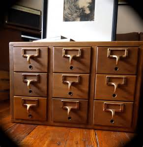 Library File Cabinet Vintage Library Card Catalog File Cabinet By Vidaliasvintage