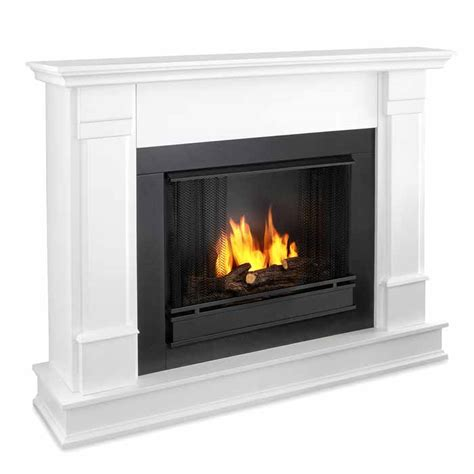 White Gel Fireplace by Silverton G8600 W White Gel Fireplace Just Fireplaces