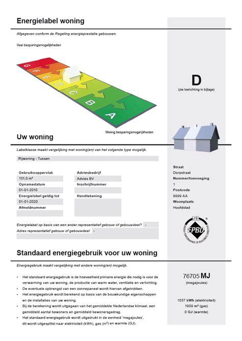 energielabel woning berekenen energielabel tolsum energie advies franeker