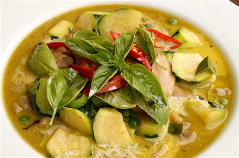 thai green curry wickedfood