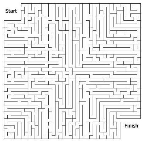 free printable maze hard free printable mazes for kids at allkidsnetwork com
