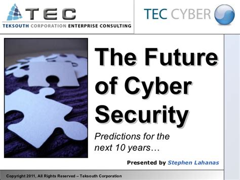 The Future Of Cyber Security Cyber Security Presentation Free