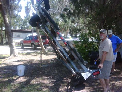 undercoating trailer southern airboat picture gallery - Airboat Undercoating