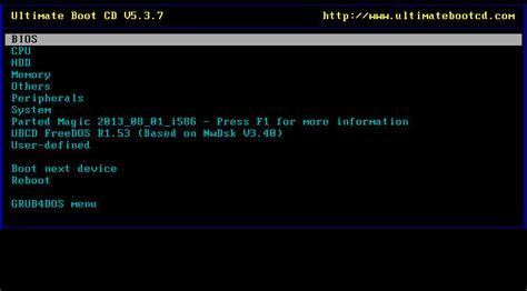 reset windows password boot c ultimate boot cd windows 10 8 1 8 7 password reset