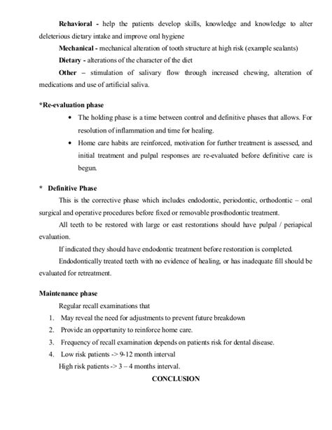 Patient Diagnosis Letter Diagnosis And Treatment Planning In Conservative Dentistry And Endodo