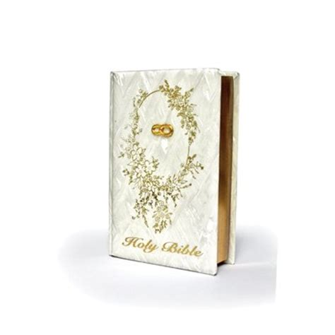Wedding Bible by Pearl Design Wedding Bible