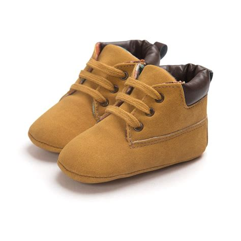 Boys Crib Shoes by Baby Shoes Toddler Boys Ankle Boots Lace Up Crib