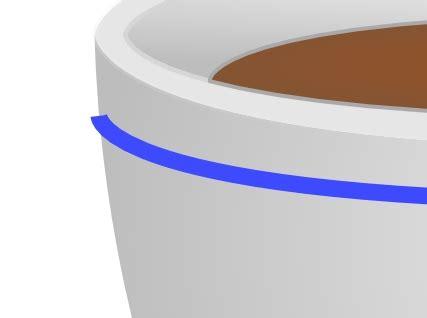 Mug Tidak Bekerja mbak sri membuat cup coffee dengan inkscape