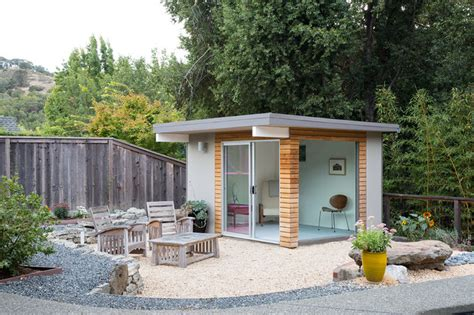 Renovated Sheds by Norcal Eichler Renovation Midcentury Flat Or