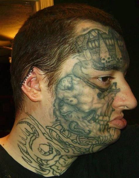 crazy face tattoos tattoos for tattooimages biz
