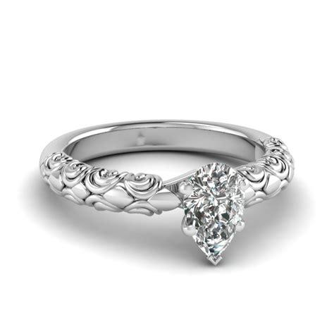 Filigrane Eheringe by Filigree Engagement Ring Fascinating Diamonds