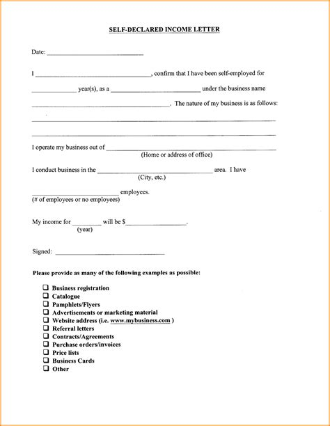 Proof Of Income Letter For 8 Proof Of Income Letter Academic Resume Template