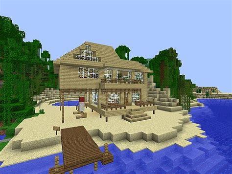 minecraft beach house minecraft project