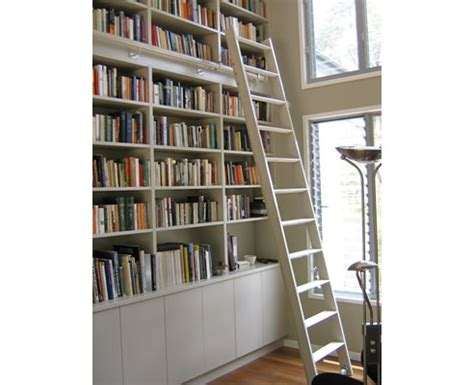 rolling bookcase ladder images