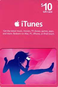 Itunes Gift Card Credit - itunes gift card with 10 credit tunezip