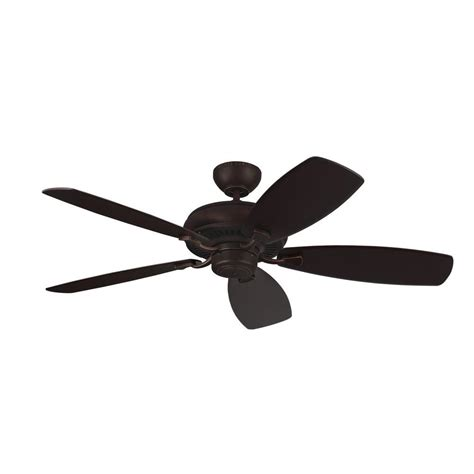 monte carlo ceiling fans monte carlo light cast max 52 in roman bronze ceiling fan
