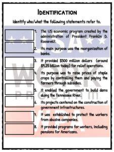 New Deal Worksheet