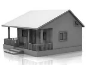Small Home Models - small house 3d model 3d model sharecg
