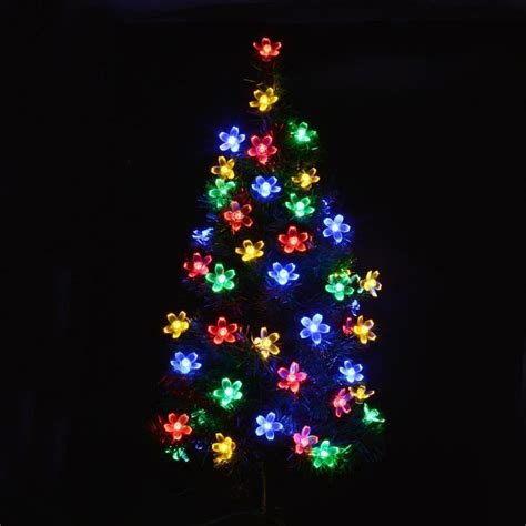 10m 80 christmas trees decoation led string lights cherry