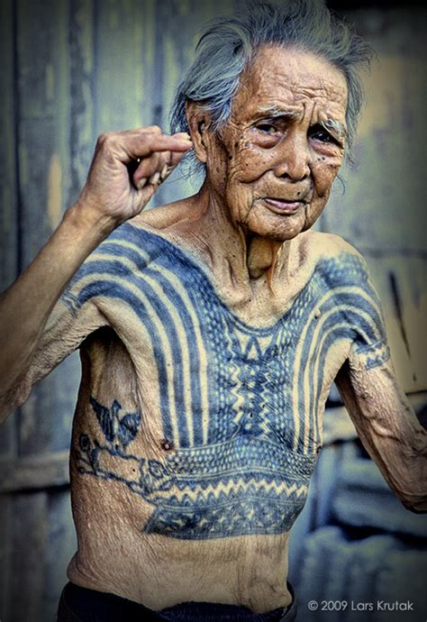 old person tattoo the kalinga batok festival lars krutak