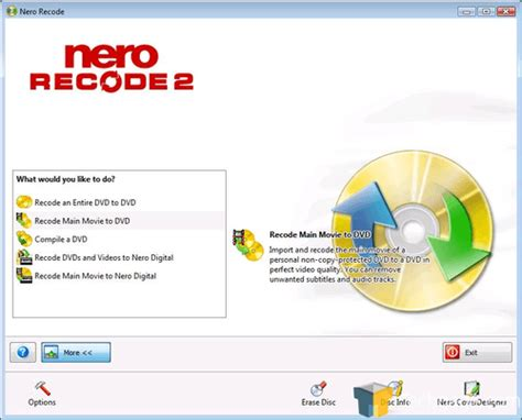 format dvd nero nero 8 ultra edition techgage