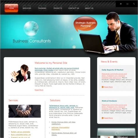 Business Consultants Template Free Website Templates In Css Html Js Format For Free Download Consulting Website Template