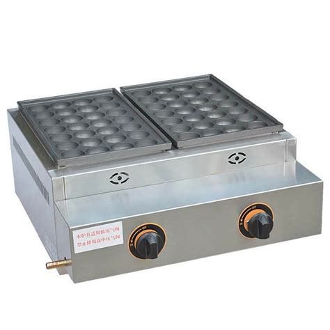 Teflon Takoyaki commercial gas takoyaki machine with teflon coating nonstick