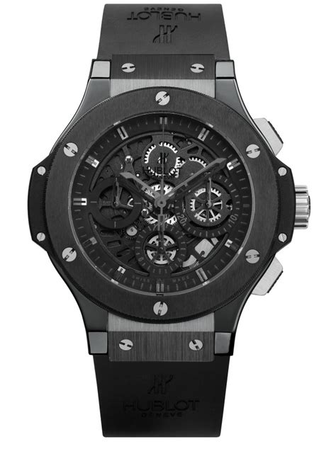 All Don Black For The Black 2008 Collection Show by Hublot 黑表系列10年进阶蜕变