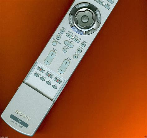 Kdf E42a10 L by Sony Rm Yd003 Tv Remote Manual Kdf E42a10 Kdf E50a10 Wega