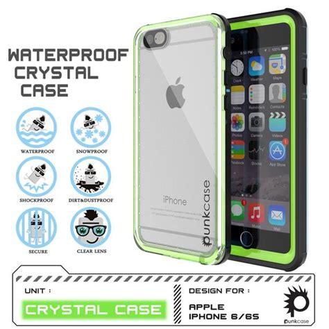 punkcase crystal light green apple iphone   waterproof